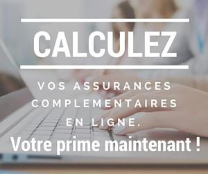 Calcul de la prime des assurances complémentaires suisse