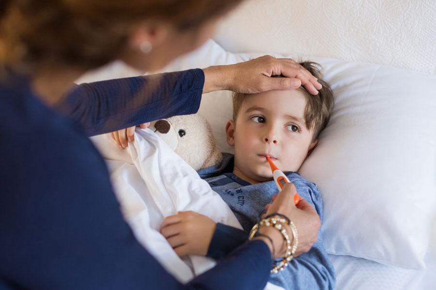 Mon enfant tombe souvent malade : que faire ?