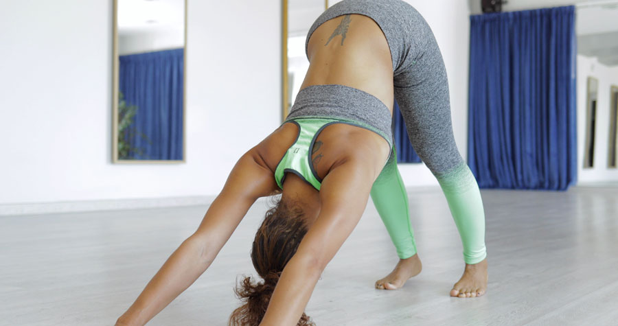 Séance de yoga en Suisse